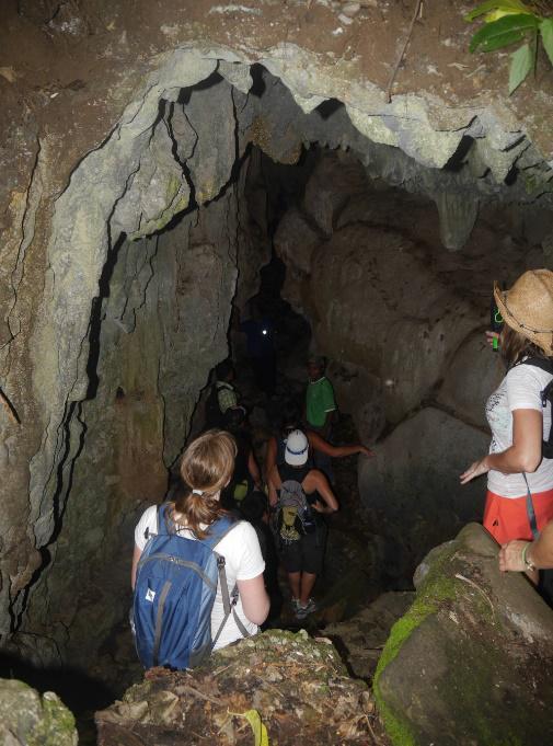 santa elena cave